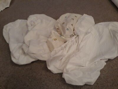 5 Moses Basket Fitted Sheets