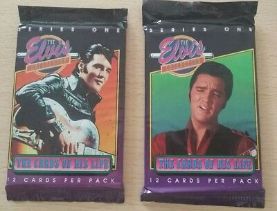 The Elvis Collection series One Trading Cards 2 Unopened packs