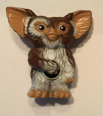 Vintage 1984 GREMLINS Gizmo Gumball Container toy Made in Hong Kong