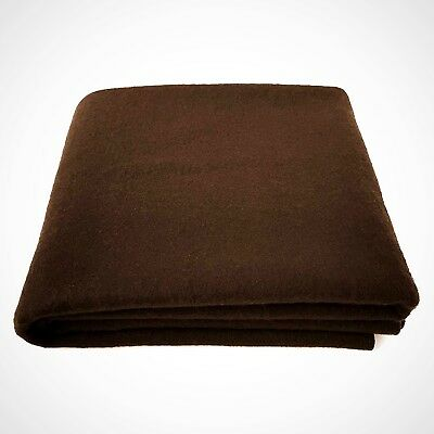 Wool Blanket Large Washable Durable & Naturally Long Lasting For Outdoor Camping