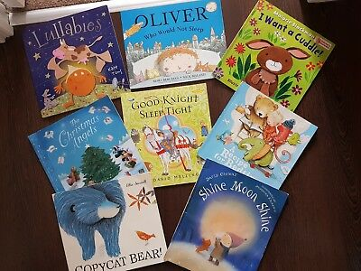 Bundle Of X8 Bed Time Baby Toddler Books