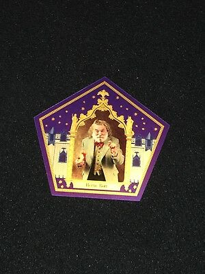 Harry Potter chocolate frog card Bertie Bott Rare Limited Edition