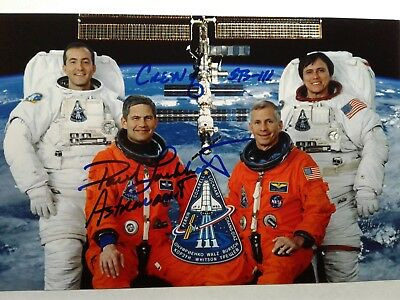 "Paul S. Lockhart  ""Paco"" Authentic Hand Signed 4X6 Photo - NASA ASTRONAUT"