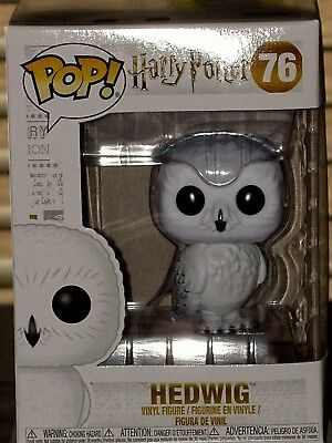 Funko Pop! Harry Potter HEDWIG Collectible Vinyl Figure #76 * MINT * FREE SHIP