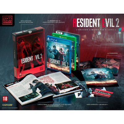 Resident Evil 2 Remake Collector´s Edition PIX´N LOVE PS4 Pre Sale