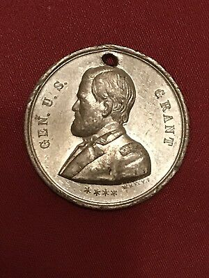 1868 US Grant Campaign Medal