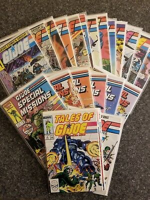 GI Joe (1982 )Lot: 2, 15, 29, 34, 47, 50 +more, Special Missions, Tales of, etc.