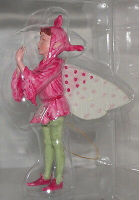 ORCHIS FAIRY Garden Cicely Mary Barker FLOWER FAIRIES Ornament New in Box 87006