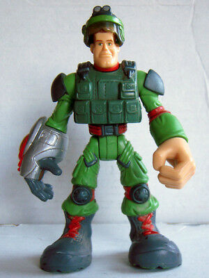 MAJOR POWERS - 2002 Star Squad 6 inch Hasbro Playskool Action Figure