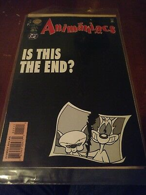 Animaniacs comic #11 Pink and The Brain cover