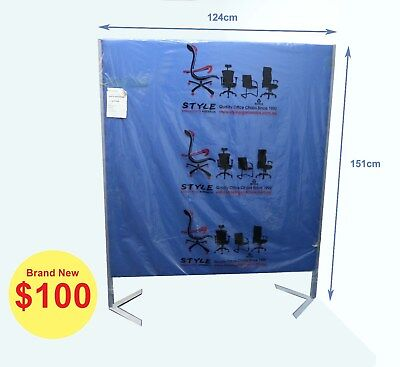 Office Partition Acoustic Pinnable Screens Room Dividers Free Standing Panels