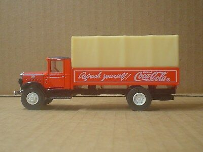 Coca Cola BM Mack Die Cast and Plastic Delivery Truck ~ Hartoy