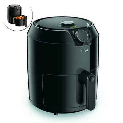 Tefal Easy 4.2L Classic Healthy Deep Cooker Kitchen Air Fry Oil Free Fryer Black