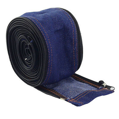 TIG Welding Torch Cable Cover Cowboy Zipper Jacket 7.5 Meter And 25 Feet Length~
