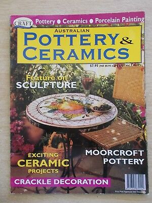 Australian  Pottery & Ceramics Vol 2 #1~Table~Ginger Jar~Dragonfly~Tulip Plate