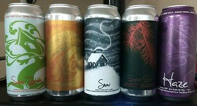 Tree House Brewing 5 cans All DIPA Double IPA Heaven! Haze Snow Super Typhoon