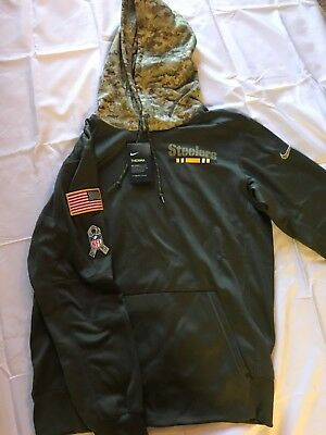 watch 8c3df 763bc steelers salute to service hoodie xl