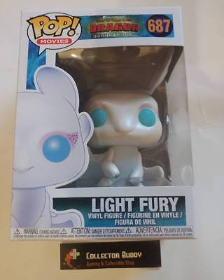 Funko Pop! Movies 687 How to Train Your Dragon Light Fury Pop Vinyl Figure