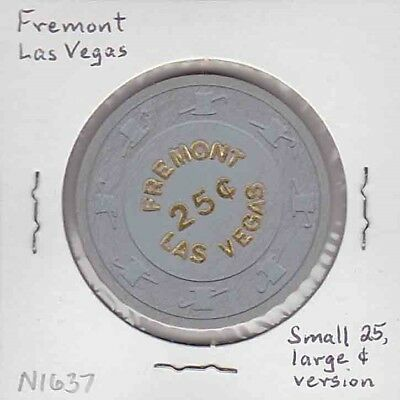 Vintage 25¢ chip from the Fremont Casino (1980s) Las Vegas