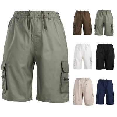 5708c2430d Summer Mens Cargo Shorts Camo Camouflage Pants Trendy Sports Work Army  Trousers