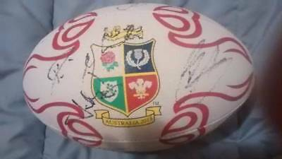 2013 British and Irish Lions Signed Football Rugby Union