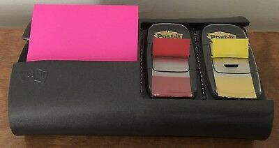 3M POST-IT Pop-Up Note And Flag Dispenser PRO100 INCLUDES Post-It Notes & Flags