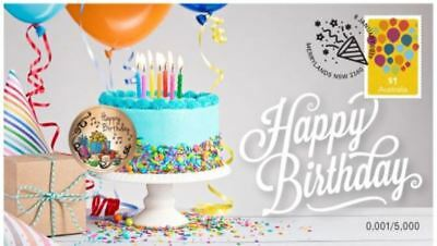 2019 HAPPY BIRTHDAY PNC Stamp & Coin Cover