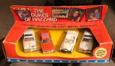 The Dukes Of Hazzard 1/64 Scale Die Cast Metal Replicas ERTL Co.
