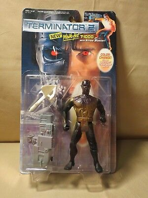 1991 Kenner Terminator 2 White Hot T-1000 action figure