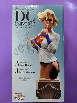 Supergirl Bust Women of the DC Universe by Adam Hughes Ltd 1584/5000