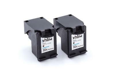2x Cartuccia d'inchiostro nero per HP Officejet: 3800 Series / 3830 / 4650