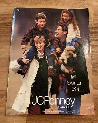 Vintage JC PENNEY Fall & Winter 1994 Catalog 90's Retro Fashion