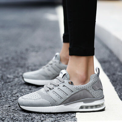 Women s Sneakers Casual Shoes Athletic Breathable Gym Air Cushion Sports  Running 957cb88a2