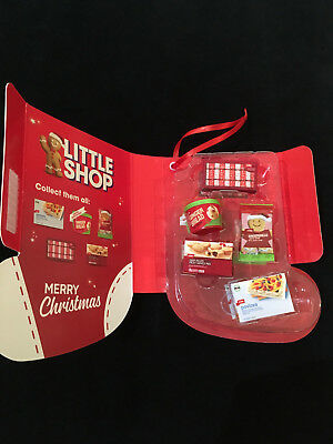 Coles Little Shop Xmas Ed Brand New Collector's Case & Minis Free Express Post