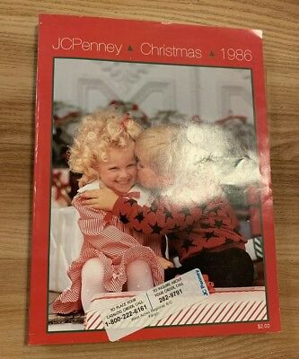 Vintage 1986 JC Penney Christmas Kids Toy Catalog Wish Book