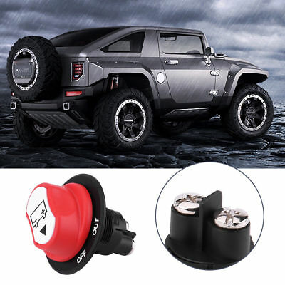 Car Boat truck On / Off Battery Master Disconnect Rotary Cut Off Isolator Switch