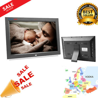 12 Inch Digital Frame Multifunction Music Video Player Cadre Photo électronique
