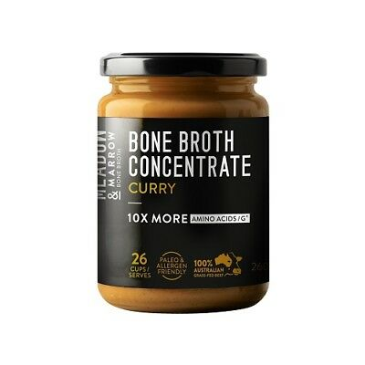 MEADOW & MARROW Curry Bone Broth Concentrate 260g