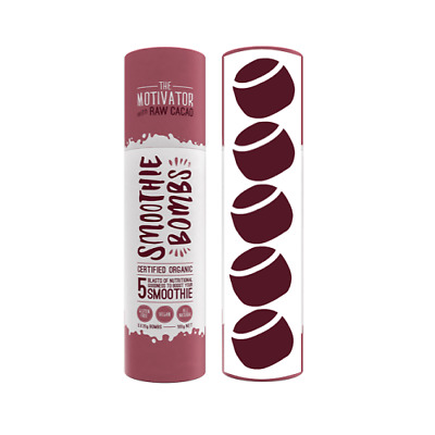 SMOOTHIE BOMBS The Motivator (Raw Cacao) 100g