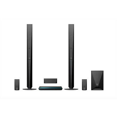 Sony BDV-E4100 3D Blu-ray Home Entertainment-System Schwarz Bluetooth, 1000 Watt