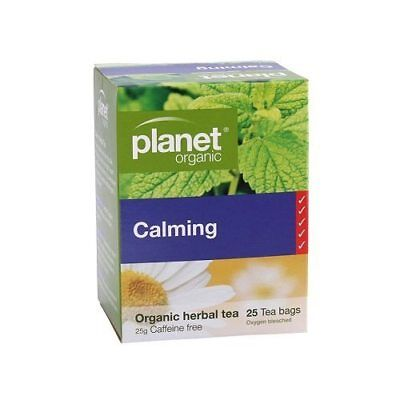 PLANET ORGANIC Calming Herbal Tea Bags (25)