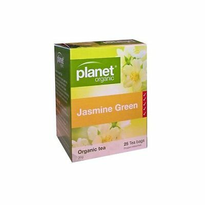 PLANET ORGANIC Jasmine Green Herbal Tea Bags (25)
