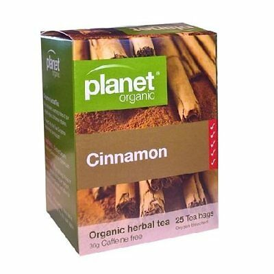 PLANET ORGANIC Cinnamon Herbal Tea Bags (25)