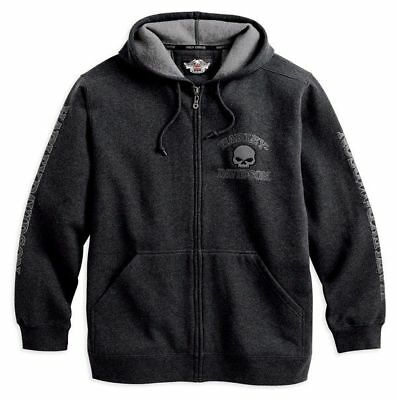 Harley Davidson Men's Hooded Skull Sweatshirt Gr. L