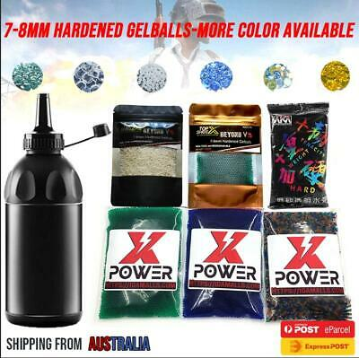 STD 7.4mm 7-8mm Gel Balls AMMO / Water Bullet Bottle For Pistol Blaster outdoor
