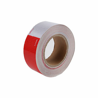 """DOT-C2 Conspicuity Tape 2""""x150' Reflective Approved Trailer Red White -1 Roll"""