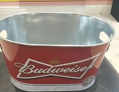 FREE POSTAGE home pub//bar//mancave AMIGOS TEQUILA  BEER GALVANISED  ICE BUCKET