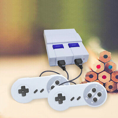 Mini Retro Vintage TV Game Console Classic 400 Built-in Games with 2 Controllers