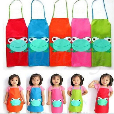 Children's Waterproof Painting Cooking Apron Boys & Girls Kids Toddlers Fun