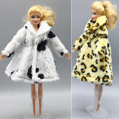 For 11 Inch Girl Doll Fashion Coat Doll Outfit Clothing Accessories Cloth